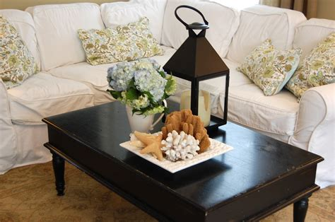 how to decorate a coffee table for real