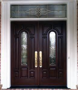 Exterior Fiberglass Doors With Sidelights Captivating Fiberglass Entry Doors With Sidelights And Transom Using Polished Brass Front Door