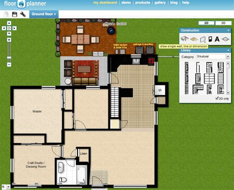 create house floor plans online floorplanner screen shot the borrowed abodethe borrowed