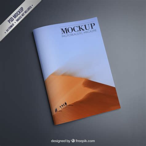 ideas mag free version magazine mockup psd file free download