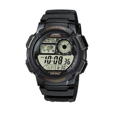 Casio Digital Pria Ae 1000w 1a jual jam tangan pria original branded harga menarik
