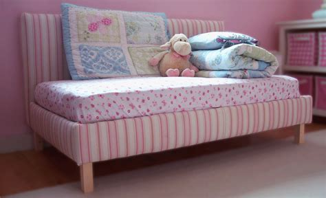Handmade Toddler Beds - white toddler upholstered bed diy projects