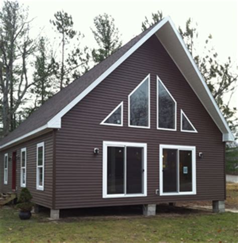 Coastal Living Dining Room by North Country Homes Modular Homes Northern Michigan