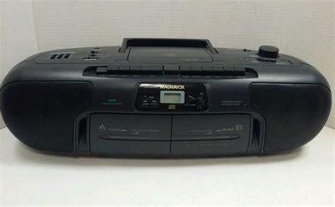 cd cassette recorder magnavox portable cd stereo radio cassette recorder az8348