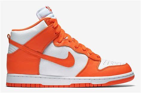syracuse sneakers 2016 jun nike dunk high qs syracuse s sneakers