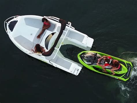 this boat attachment for your jet ski gives you the best - Jet Ski Boat Attachment