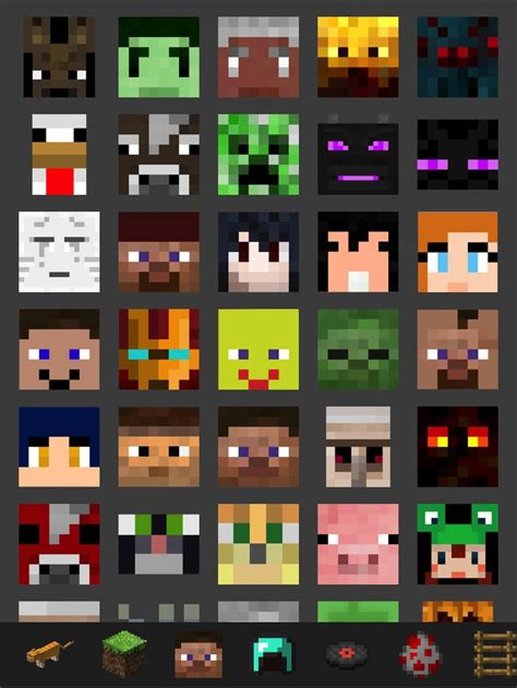 Minecraft Theme Bedroom All Minecraft Characters Back Gt Minecraft Img For