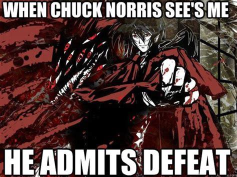 Hellsing Meme - alucard hellsing meme