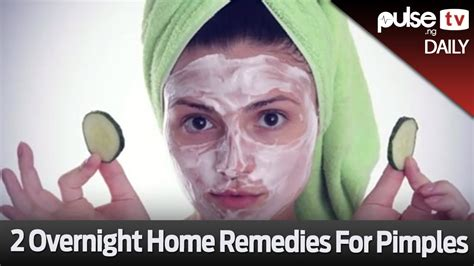 2 overnight home remedies for pimples pulse daily