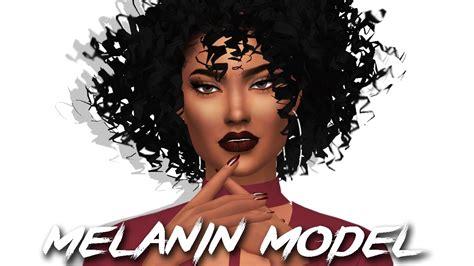sims 4 cc afro the sims 4 cas melanin model full cc list sim