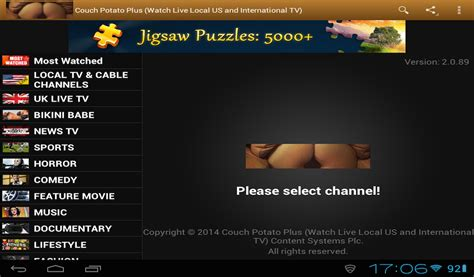 couch streaming tv com couch potato plus watch and record 100 s of