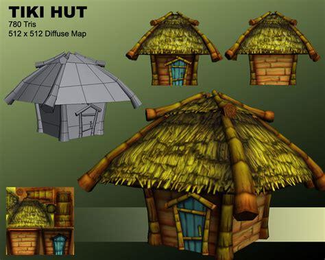 Tiki Hut Drawing Adam Marynik