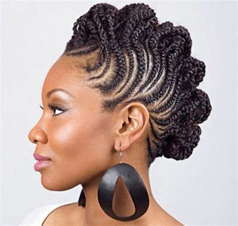 braided mohawk hairstyle best curly hair to use 712 best natural hair the journey images on pinterest