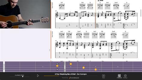 tutorial gitar when i was your man a poor wayfaring man of grief mormon guitar