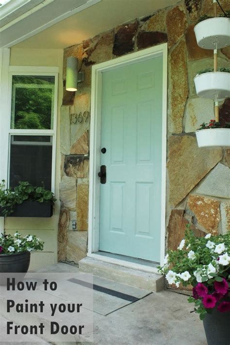 how to paint front door how to tips and advice
