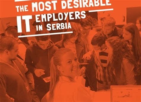 Most Desirable Mba Employers 2016 by The Most Desirable It Employers In Serbia Vojvodina Ict
