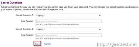 yahoo email security questions changed how to hack yahoo email passwords how to secure your