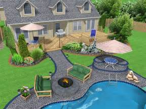 the nice backyard landscape design ideas front yard
