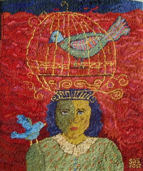 smith rug hooking patterns 3886 best fiber and stitching images on textile textile artists and fiber