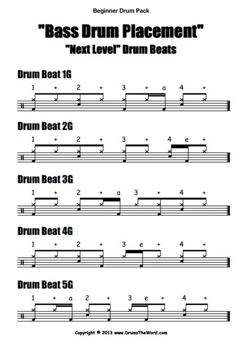 drum tutorial easy quot beginner starter quot video pack drumstheword online
