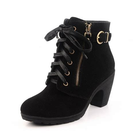 handmade fashion suede leather gold zipper shoes