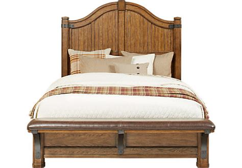 eric church creates highway to home furniture collection eric church highway to home heartland falls 3 pc king panel bed beds wood