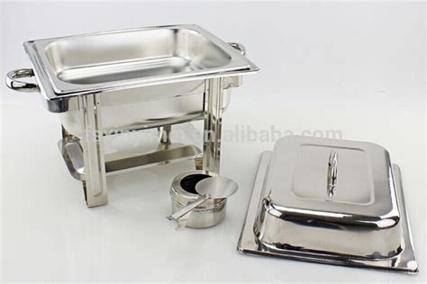 Warmer Square Pan Tempat Prasmanan rectangle roll top chafing dish food warmer buy chafing