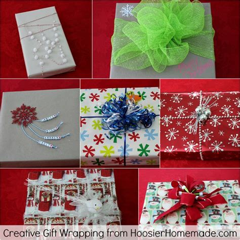 creative gift wrapping 100 days of homemade holiday