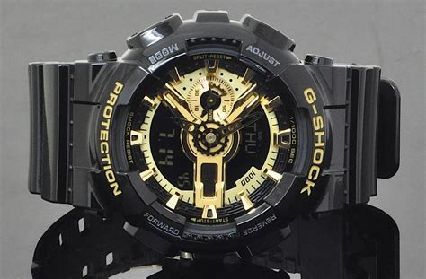 G Shock Ga 110 Gold Black Bm casio g shock gold black ga 110gb 1 end 3 15 2019 12 15 pm