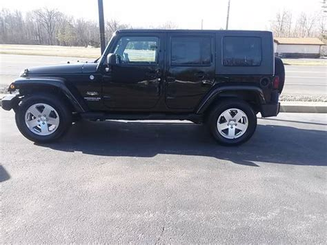 Jeep Wrangler For Sale In Illinois 2010 Jeep Wrangler Unlimited Sport For Sale In Chicago Il