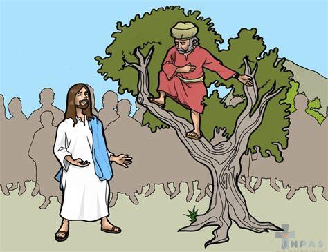 imagenes biblicas de zaqueo inpas