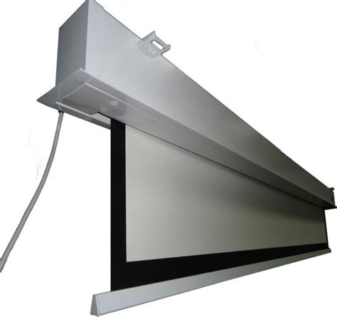 Ceiling Projector Screen by Vgitw059105mwb Electri Cinema120inch In Ceiling Screen
