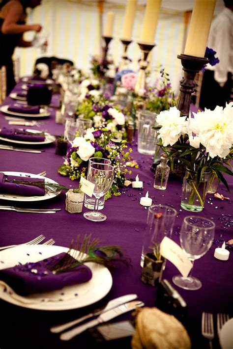 the color purple setting 17 best ideas about purple table settings on