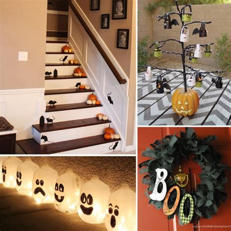 easy halloween decorations to make at home 40 easy to make diy halloween decor ideas page 2 of 4