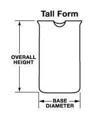 diagram of beaker technical glass products form beakers