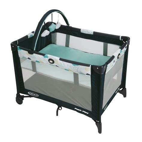 Graco Pack Play Corralito Portatil Stratus graco pack n play 174 playard with automatic folding stratus