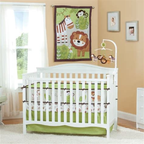Summer Baby Crib by Summer Infant Jungle Buddies 4 Crib Bedding Set