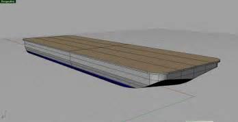 Barge houseboat plans designs