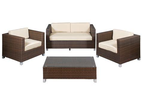mesas para sillones sillones y mesa para terraza de rat 225 n sint 233 tico