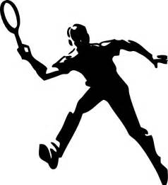 tennis player clip art at clker com vector clip art