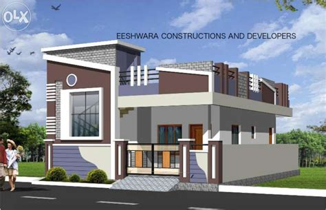 front elevations of indian economy houses elevations of independent houses google search