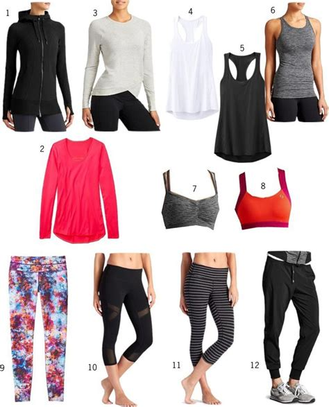 Pieces To Update Your Workout Wardrobe With by 1000 Ideas About Staple Wardrobe Pieces On