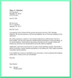 Write A Cover Letter For by The General For Writing Cover Letters
