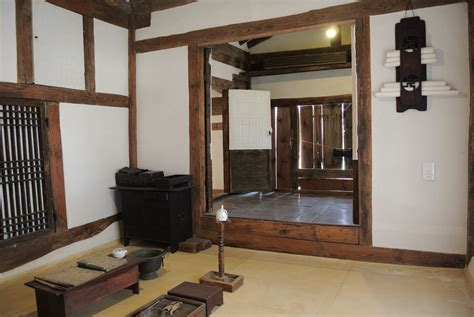 file interior of a traditional korean house jpg