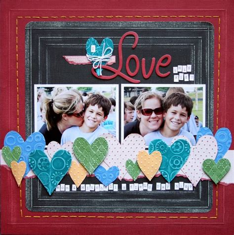scrapbook layout four photos pin by patty gee on scrapbooking 2 pinterest