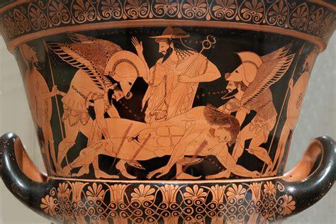 Euphronios Vase by Thaumazein The Of Sarpedon The Iliad Book Xvi