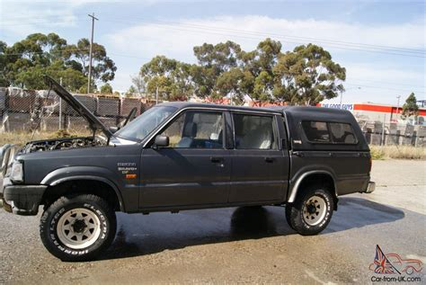 mazda 4x4 mazda b2600 bravo sdx 4x4 1994 dual cab ute 5 sp manual