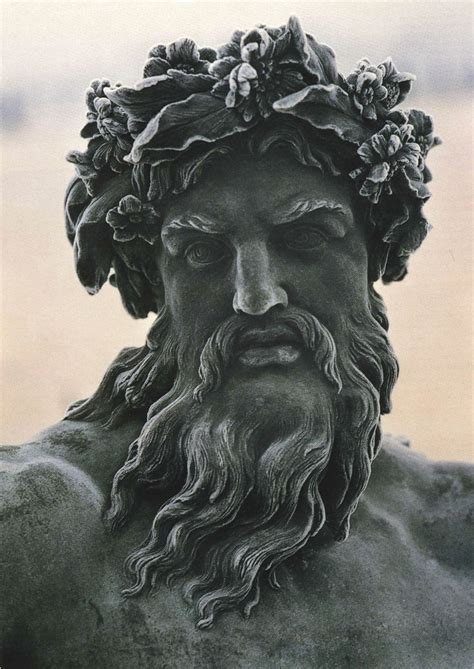 greek god statue zeus king of the gods the ruler of mount olympus and the