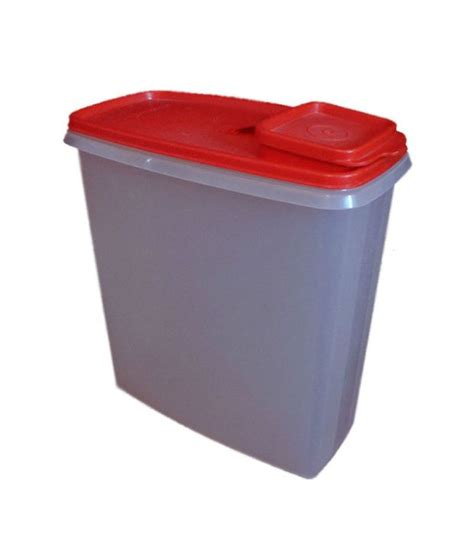 Tupperware Crispy Storer 1 buy tupperware cereal storer 3ltr lowest prices snapdeal