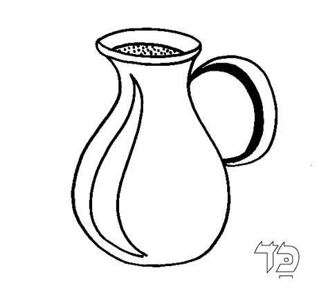 water jug coloring page torah tots alef bet jug coloring page
